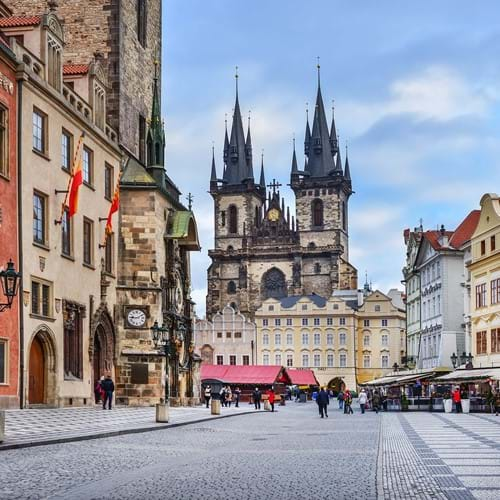 Guided Sightseeing Tour, Prague