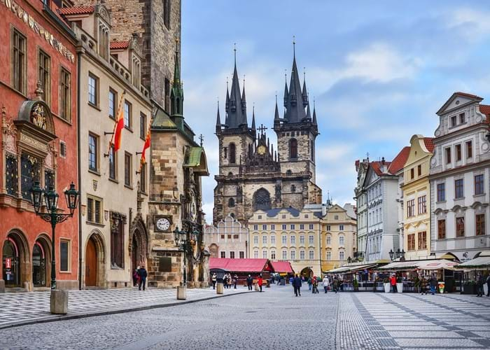 Southport College's trip to Prague 2018