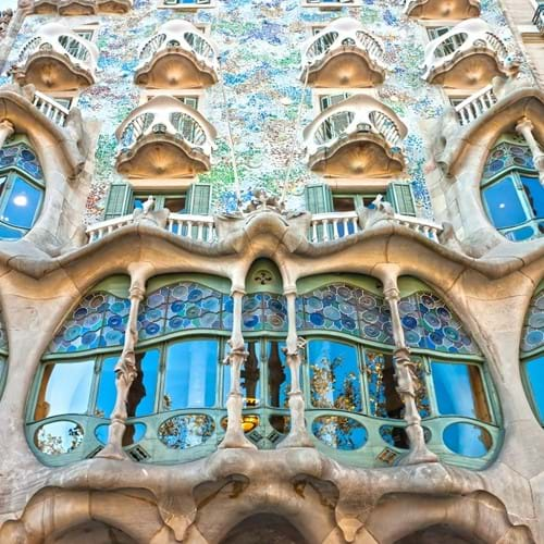 Architectural Walking Tour, Barcelona
