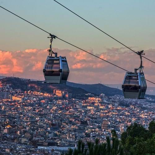 Teleférico Cable Car, Barcelona