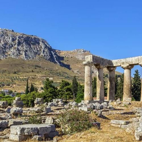 Ancient Corinth, Athens