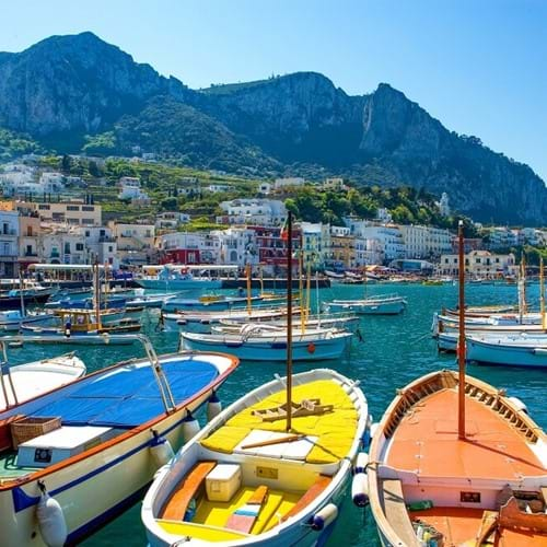 The Island of Capri, Naples