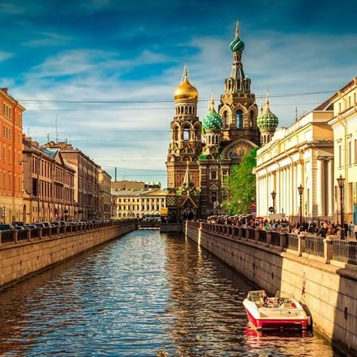 City Sightseeing Tour, St. Petersburg