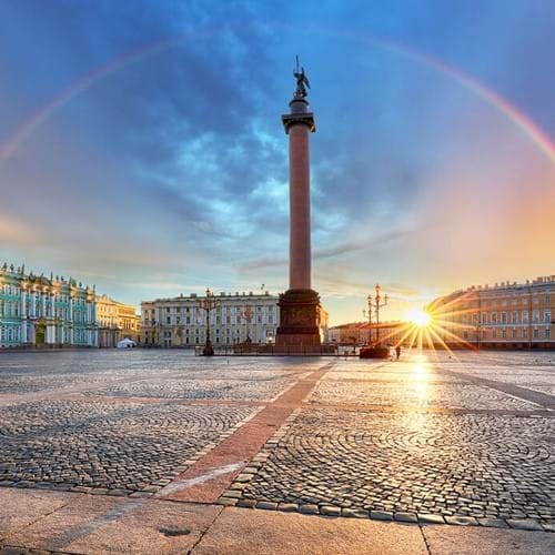 The Hermitage and Winter Palace, St. Petersburg