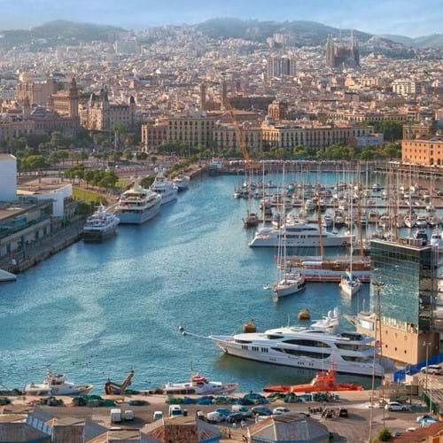 Regeneration of Barcelona Waterfront Walking Tour
