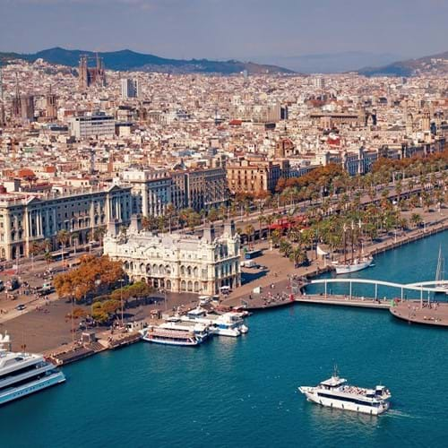 Old Harbour and Barceloneta Guided Walking Tour
