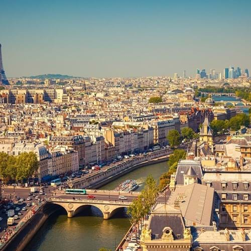 Travel & Tourism trips to Paris