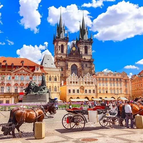 History trips to Prague